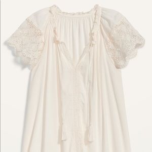 Old Navy Lace Boho Top NWT XL
